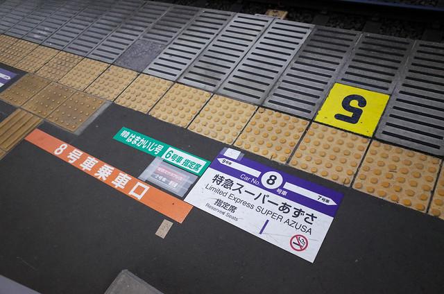 Photo:不同車型對應不同的車廂號碼 By tsaiid