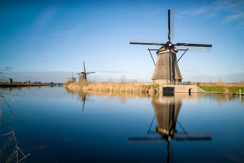 Kinderdijk Windmühlen