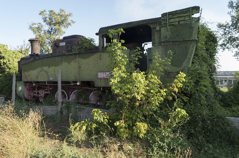 Locomotive wreck, 15.09.2015.