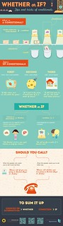 Whether or if? Tips and tricks of conditionals [infographic]