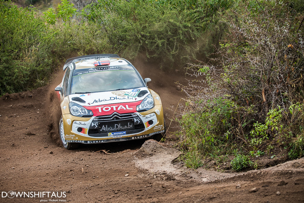 WRC competitors compete in Heat 1 of Rally Argentina on stages north of Cordoba.