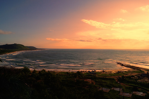 ocean sunset sea sky india beach water sunrise dawn bay seaside sony south shore seashore bengal vizag bayofbengal telangana sonyalpha vishakhapatnam mrigank sonyslta37 sonyalphaa37 mrigankgupta ruchikonda