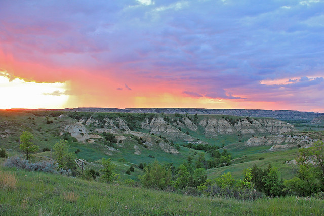 June 4, 2014. Badlands Sunset