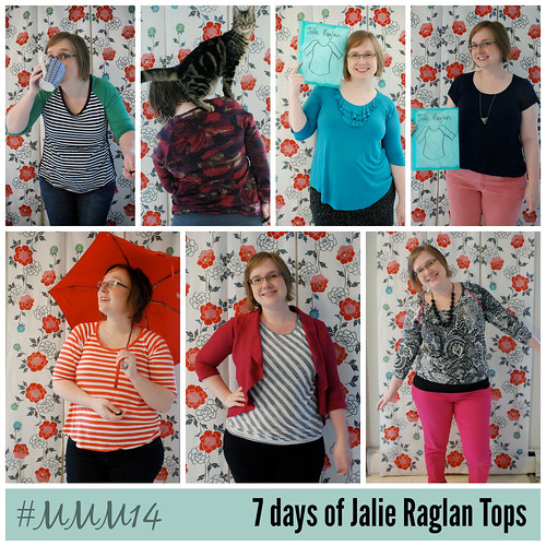 7 days of Jalie Raglan tops!