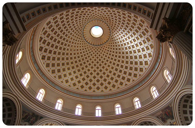 mosta church dome