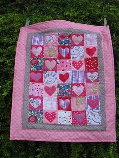 Eden-Rose's Doll quilt