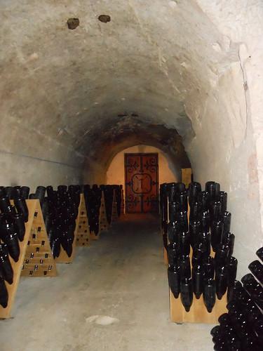 Taittinger caves