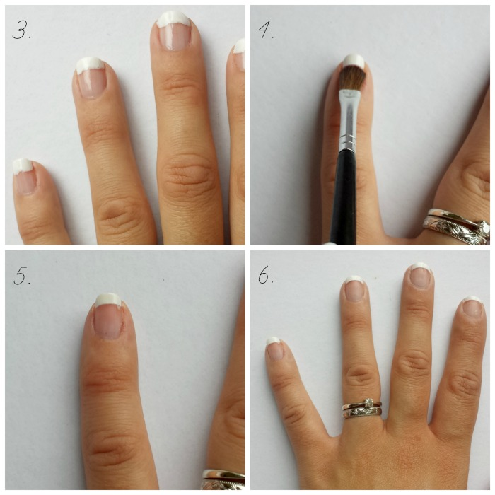 DIY French Manicure Tutorial