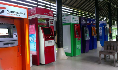 ATM at samui Airport meeting area