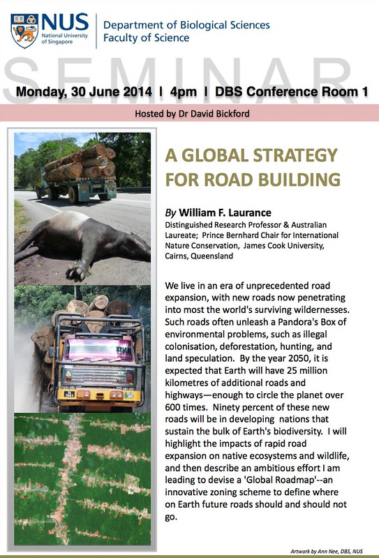 WIlliam Laurance - global strategy for road building