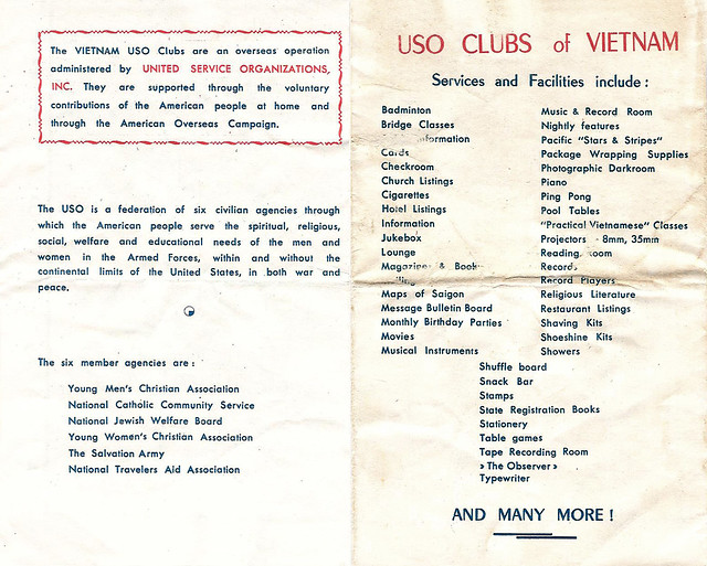 USO CLUBS of VIETNAM