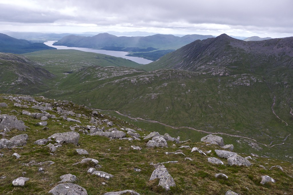Loch Etive and Coire Hallater