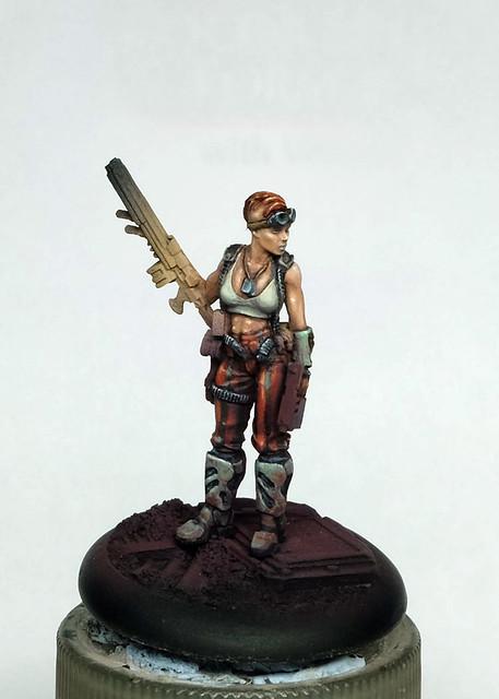 Post Apocalyptic Sniper Miniature WIP