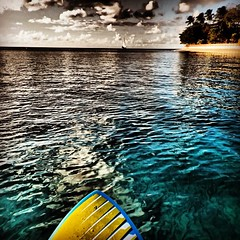 'If a man does not keep pace with his companions, perhaps it is because he hears a different drummer. Let him step to the music which he hears, however measured or far away.' - Henry David Thoreau #whatsupbarbados #stand_up_paddle #barbados #westcoast #