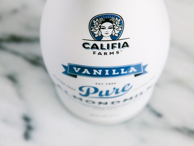 Califia Farms vanilla almondmilk