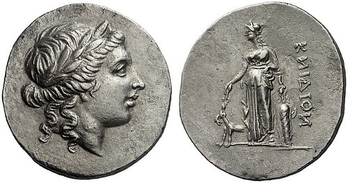 266 - Cnidus (Caria). Tetradrachm, first half 2nd cent. B. C