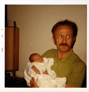 Me and dad 1970
