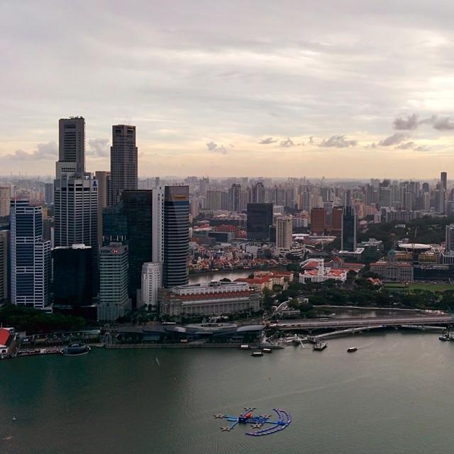 #Singapore #skyline