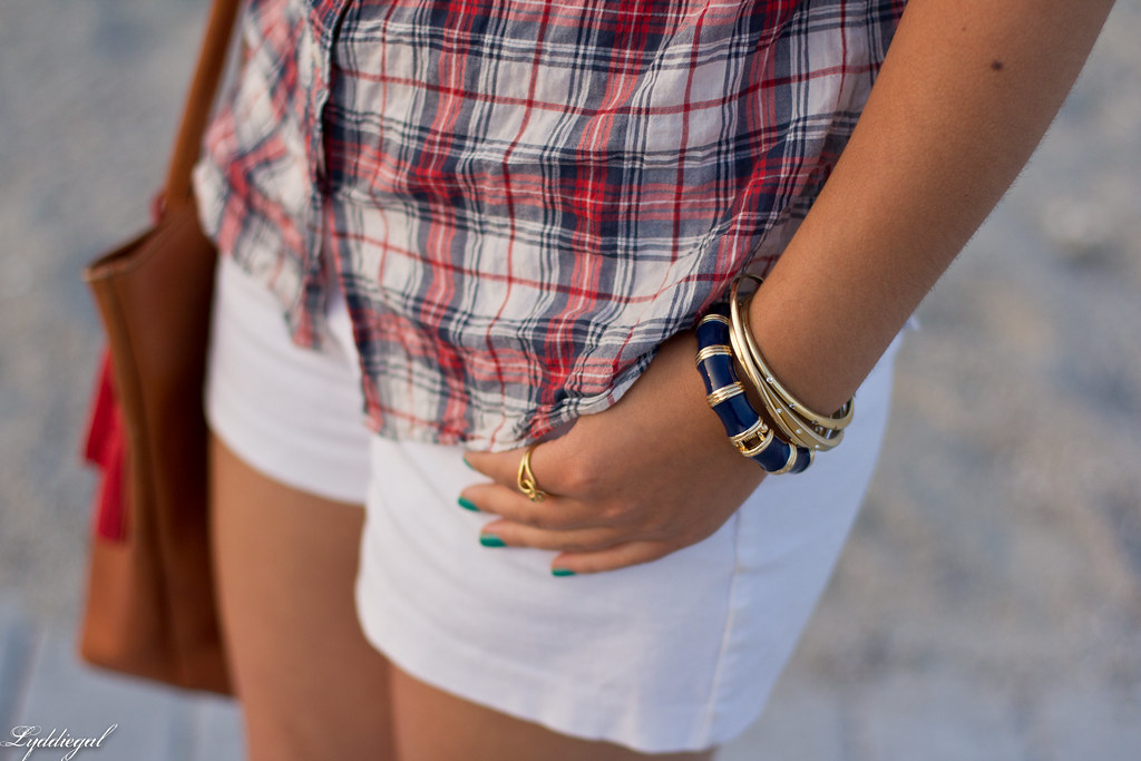 plaid shirt, white shorts-7.jpg
