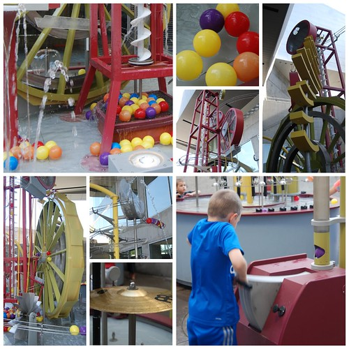 Arizona Science Center - Water Spheres and Gears