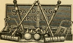 """Image from page 51 of """"Croquet and its rules"""" (1910)"""