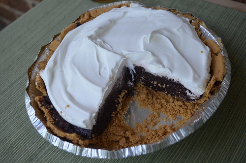 S'mores Protein Pie featuring CLICK