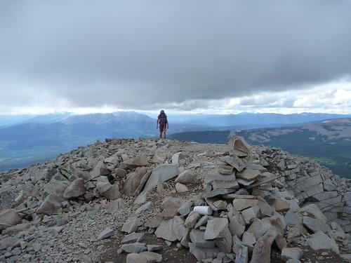 Lone Cone summit