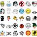 Punk-Rock icon set by begizuria