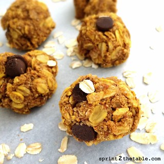 Oatmeal Protein Cookie Balls