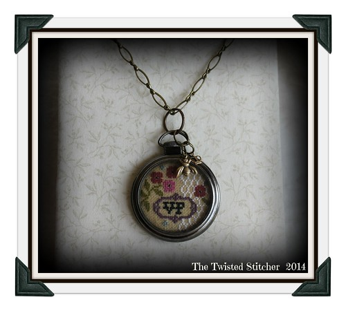 Lizzie Kate Busy Bee Pocket Watch Necklace