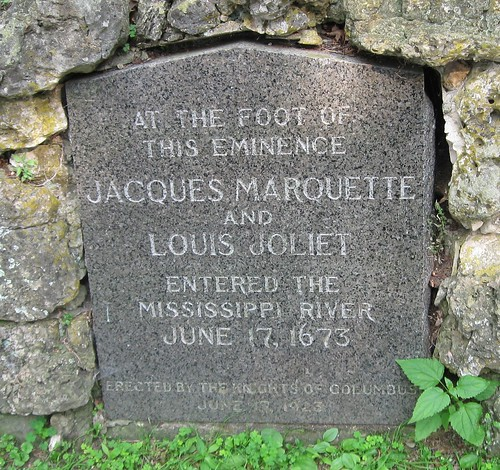 Marquette and Joliet commemorated, Wyalusing State Park