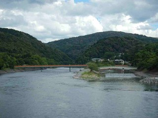宇治橋からの眺め