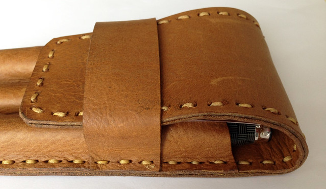 Review: Leather On The High Street Leather 3 Pen Case