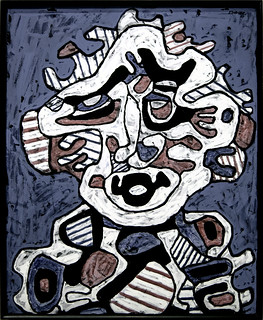 Solario (portrait) - Jean Dubuffet - 1er mars 1967