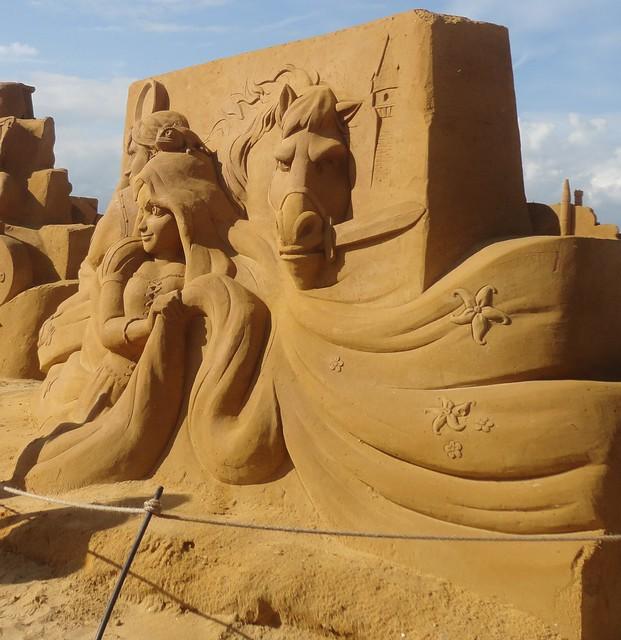 Sculpures sur sable Disney - News Touquet p.1 ! 14770338847_91a323438a_z