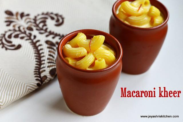 Macaroni-pasta-kheer