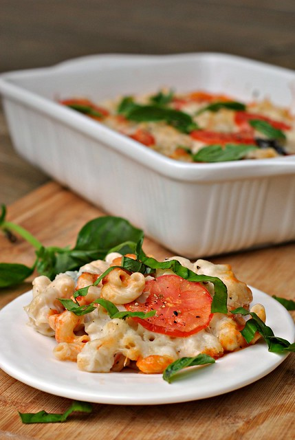Caprese Macaroni and Cheese 1
