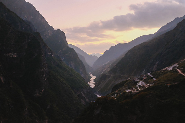 Dusk of Tiger Leaping Gorge