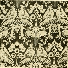 "Image from page 63 of ""Decorative textiles; an illustrated book on coverings for furniture, walls and floors, including damasks, brocades and velvets, tapestries, laces, embroideries, chintzes, cretones, drapery and furniture trimmings, wall papers, carpe"