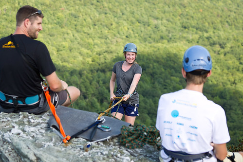 Students take part in outdoor pursuits