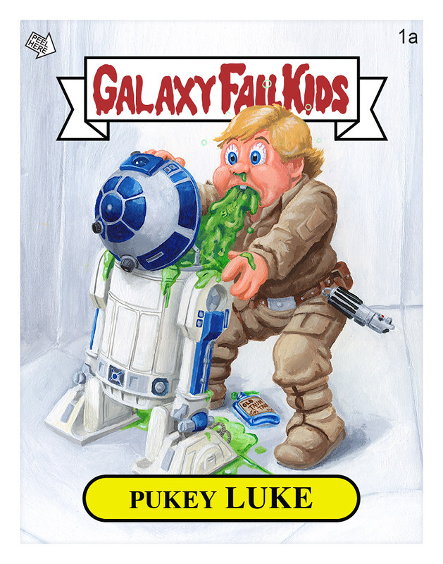 Pukey Luke Print