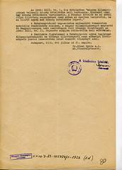 109.Az Igazságügy Minisztérium átirata a Külügyminisztérium részére a Habsburg család állampolgárságáról