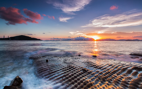 sunset hk canon photography landscapes 1635l 瀑布灣 pwpartlycloudy