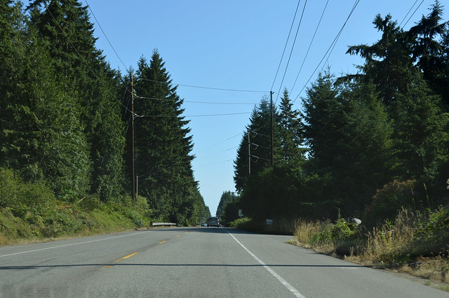 SR 307 north of Poulsbo