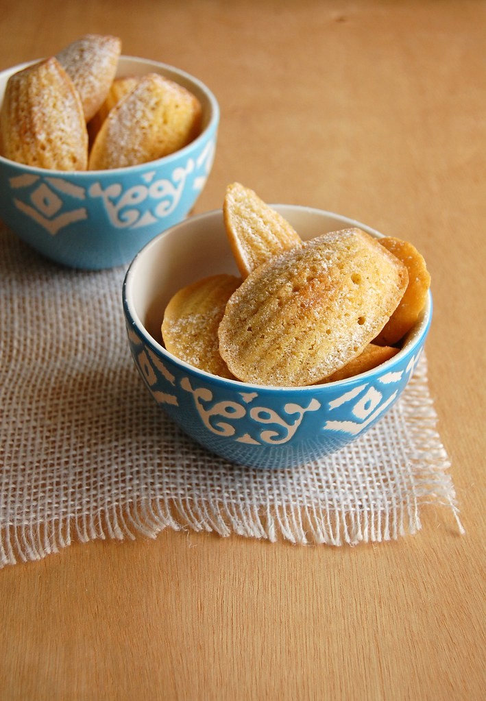 lemon and cardamom madeleines orange cardamom madeleines lemon ...