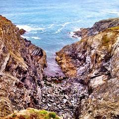 Coastal walk today. #coast  #cliffs #cornwall