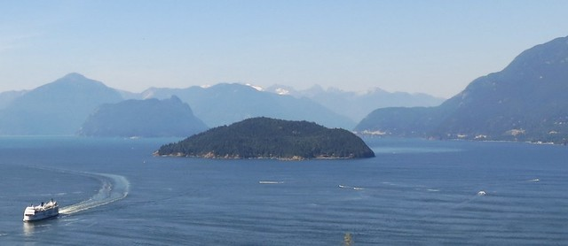 Howe Sound from the highway