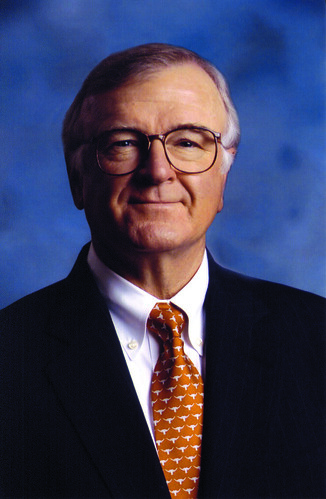Kenneth M. Jastrow, II, served as Chairman of the Commission of 125, a citizen panel that provided strategic recommendations for the university's continued progress. He also chaired the Campaign for Texas, playing an active role in achieving the commission's goals. (Photo courtesy of UT Austin)