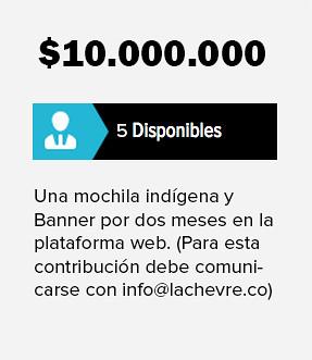 Recompensa de 10 millones