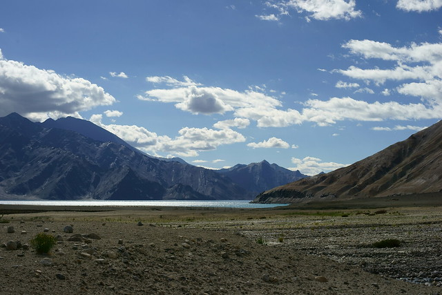Pangong-Tso lake. Ladakh, 10 Aug 2014. 470